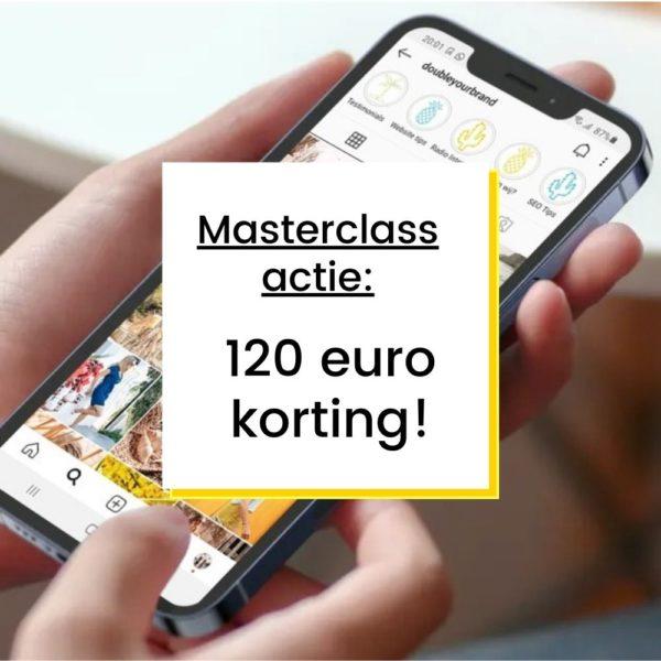 nstagram Masterclass Actie